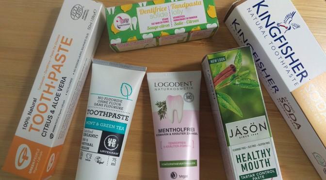 Test: natuurlijke tandpasta's, vegan én zonder fluoride