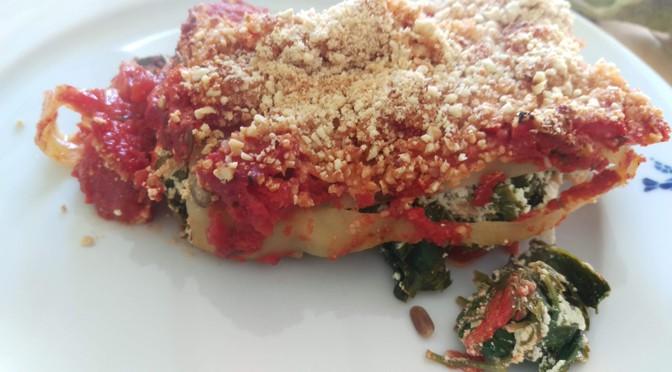 Recept vegan cannelloni met zevenblad: koken met onkruid