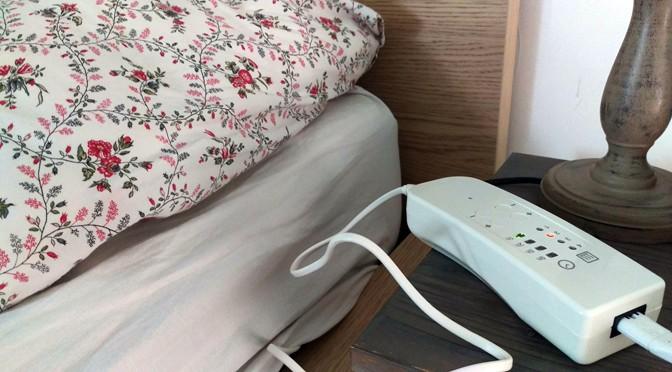 Gas besparen met een elektrische deken van Enelca – onze ervaringen