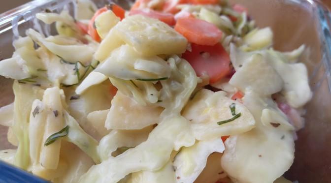 Recept: de lekkerste coleslaw, vegan & licht gefermenteerd (!)